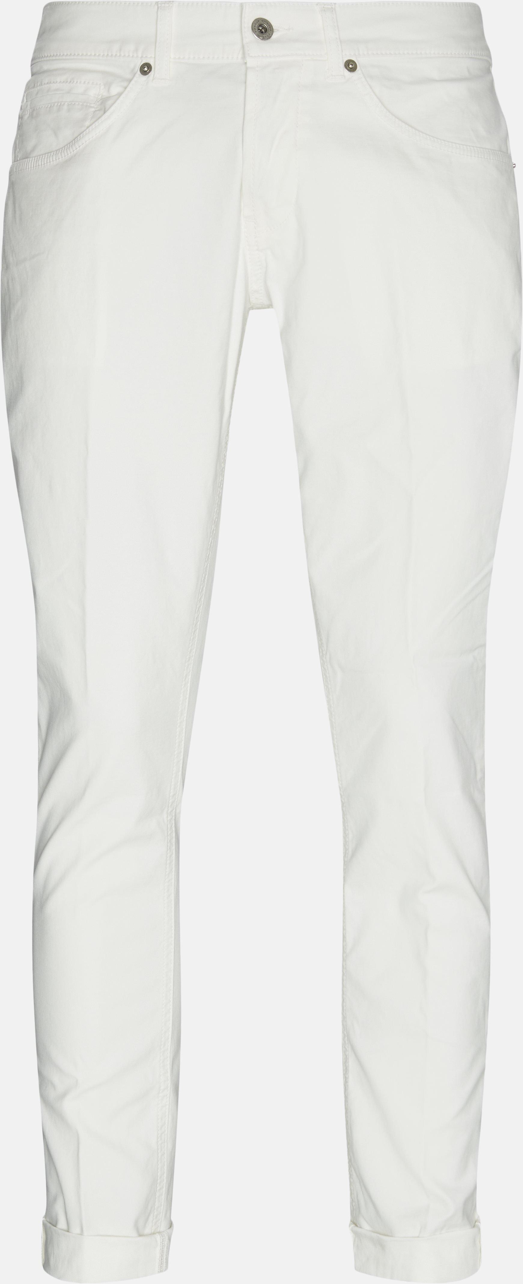 Chinos - Slim fit - Hvid